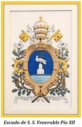 Escudo de S. S. Venerable Pío XII