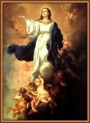 La Asunción de la Virgen a los Cielos