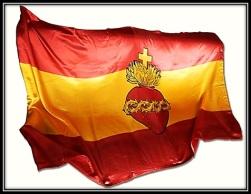 La Bandera Española - Sagrado Corazón
