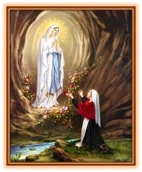 La Virgen y Bernardette