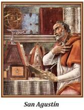 San Agustín - escribiendo