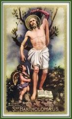 San Bartolomé Apostol - Martírio