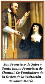 San Francisco de Sales y Santa Juana Francisca de Chantal