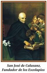 San José de Calasanz - Fundador de los Escolapios