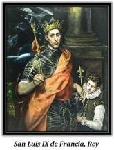 San Luis IX de Francia - Rey