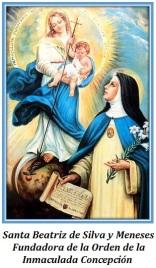 Santa Beatriz de Silva - Fundadora