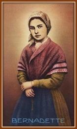 Santa Bernadette Soubious