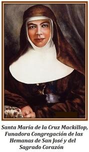 Santa María de la Cruz Mackillop - Fundadora
