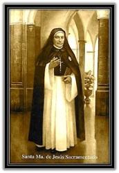 Santa Mª de Jesús Sacramentado