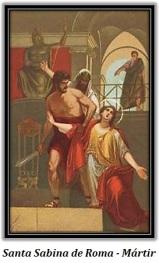 Santa Sabina de Roma - Mártir