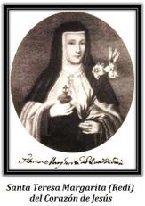 Santa Teresa Margarita (Redi) del Corazón de Jesús