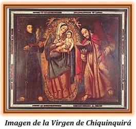 Virgen de Chiquinquirá Colombia