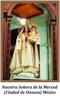 Virgen de la Merced - (Ciudad de Oaxaca) México