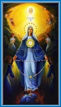 Virgen Inmaculada y Jesús Sacramentado