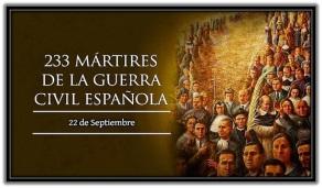 233 Mártires de la Guerra Civil Española
