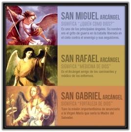 Arcángeles - Miguel, Gabriel y Rafael - significado