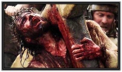 Jesús con la cruz