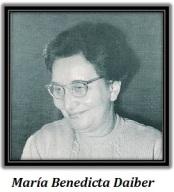 María Benedicta Daiber