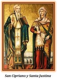 San Cipriano y Santa Justina