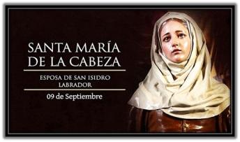Santa María de la Cabeza - Esposa San Isidro Labrador