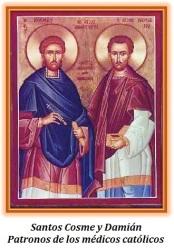 Santos Cosme y Damián