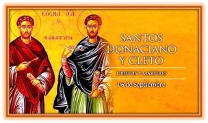 Santos Donaciano y Cleto