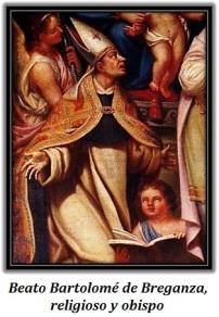 Beato Bartolomé de Breganza, religioso y obispo