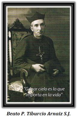 Beato P. Tiburcio Arnaiz - sentado