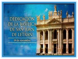 Dedicación de la Basílica de Sa Juan de Letrán