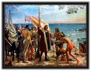 Desembarco de Colón en las américas