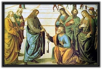 Jesucristo entega las Llaves de la Iglesia a Pedro