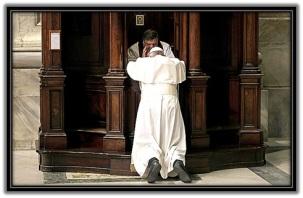 Papa Francisco - confesandose