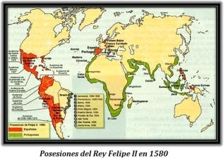 Posesiones del Rey Felipe II