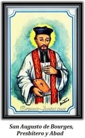 San Augusto de Bourges, Presbítero y Abad