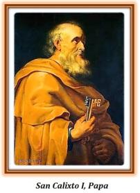 San Calixto I papa