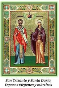 San Crisanto y Santa Daría