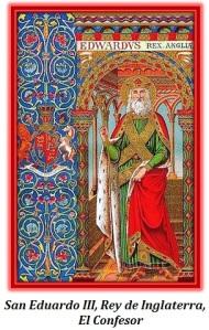 San Eduardo III, Rey de Inglaterra, El Confesor