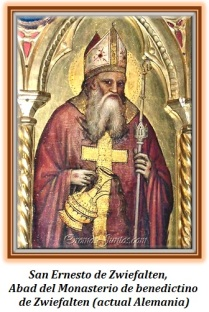 San Ernesto de Zwiefalten - Abad