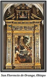 San Florencio de Orange, Obispo