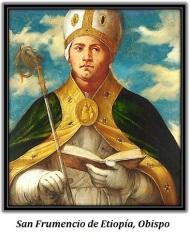 San Frumencio de Etiopía, Obispo