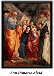 San Honorio abad