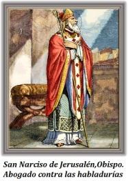 San Narciso de Jerusalén - Obispo