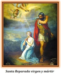 Santa Reparada virgen y mártir