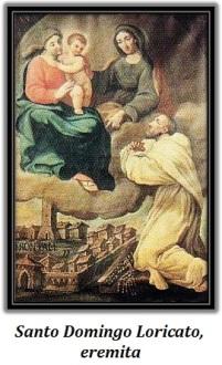 Santo Domingo Loricato, eremita