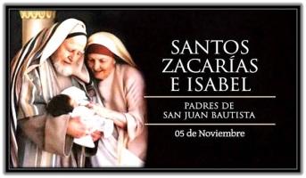 Santos Zacarías e Isabel