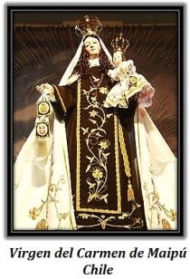 Virgen del Carmen de Maipú - Chile