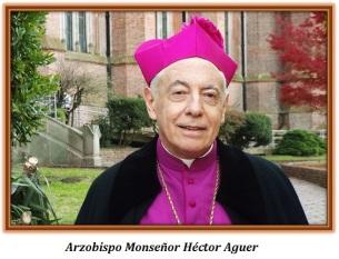Arzobispo Monseñor Héctor Aguer
