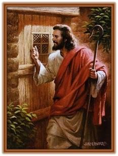Jesucristo llama a la puerta