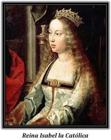 Reina Isabel la Católica - sentada