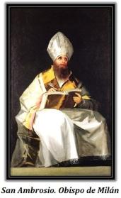 San Ambrosio - Obispo de Milán